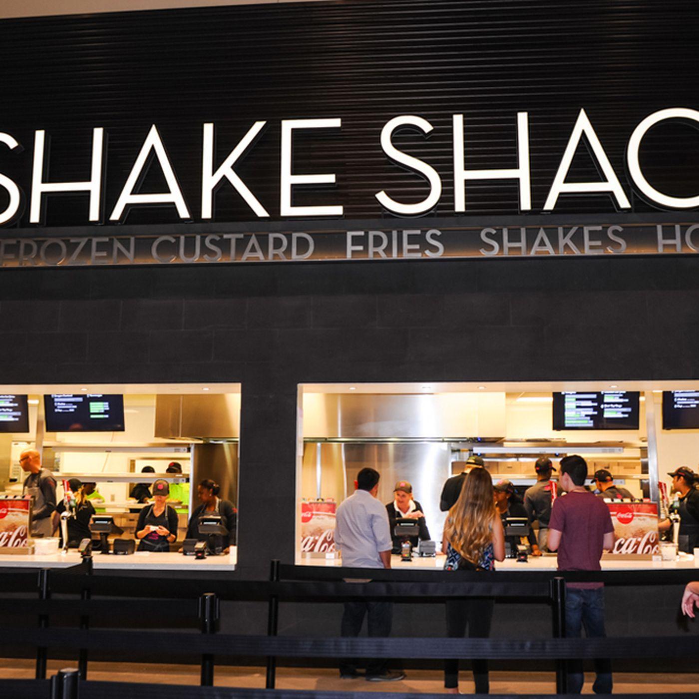 Behold The Shake Shack T Mobile Arena Menu Eater Vegas