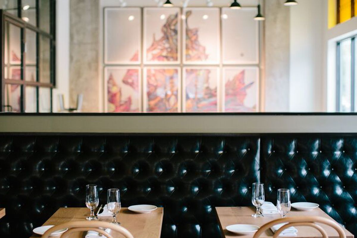 The tables are set and Eastside is almost open.