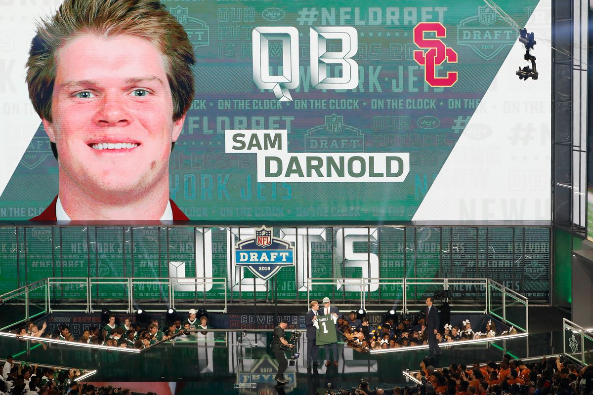 2018 Nfl Draft The Giants Gave The Jets Sam Darnold The