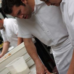 Ordering with new exec chef Chris Thompson