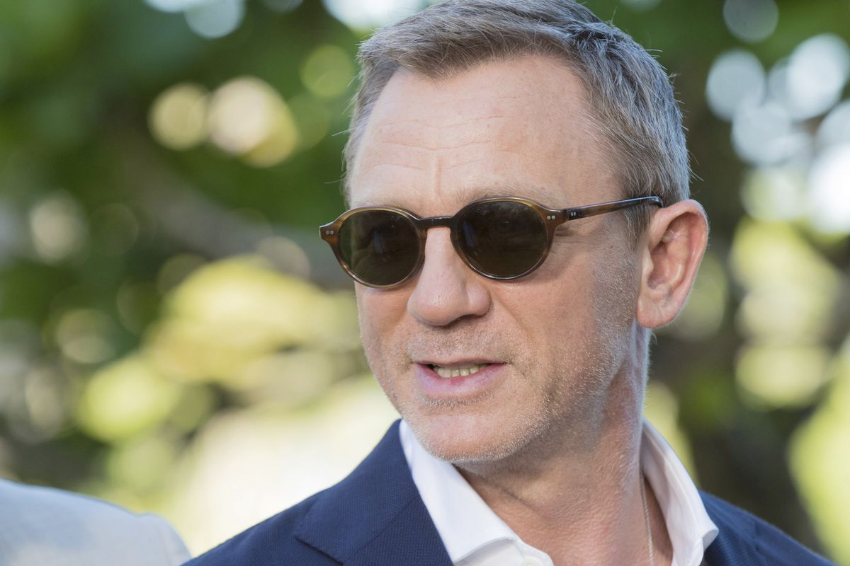 n this Thursday, Apriil 25, 2019 file photo, actor Daniel Craig poses for photographers during the photo call of the latest installment of the James Bond film franchise, in Oracabessa, Jamaica.