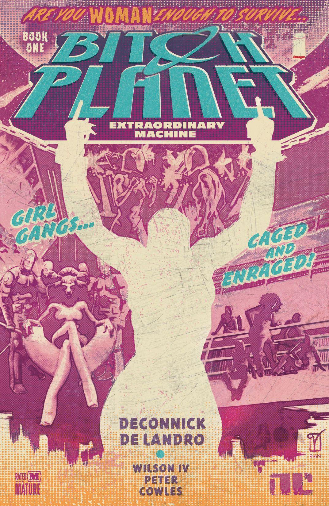 Bitch Planet #1, Image Comics (2015).