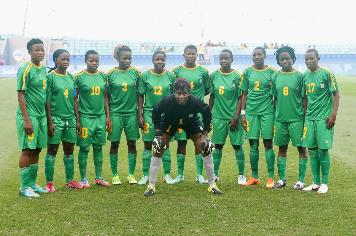 Australia v Zimbabwe: Women's Football - Olympics: Day 4