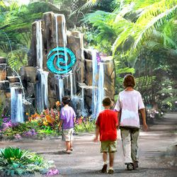 """Journey of Water is a """"Moana""""-themed attraction involving exploration and """"living water."""" The addition will open at Epcot in Orlando, Florida."""