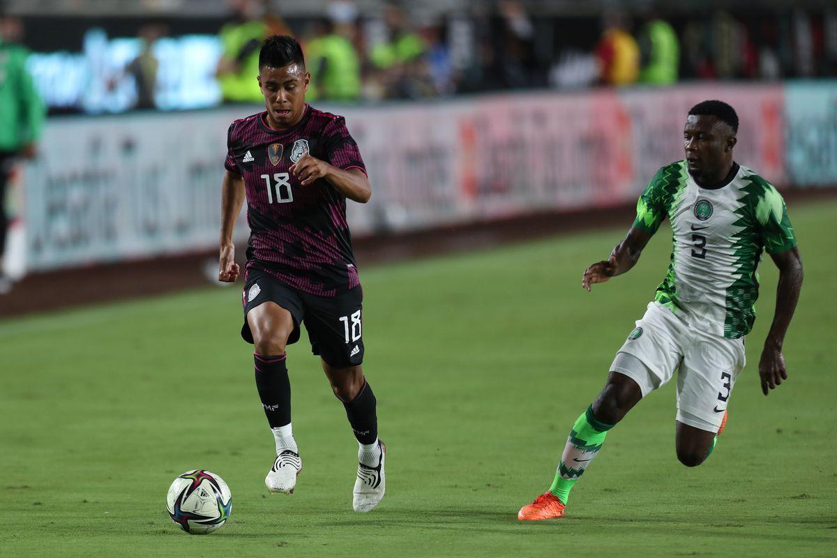 Nigeria v Mexico