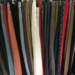 Wool and dress pants, $70