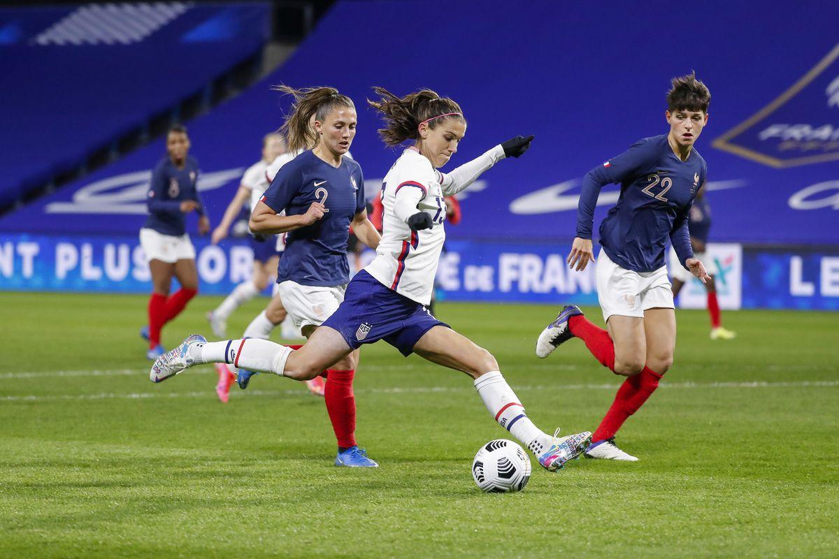 France v United States - International women friendly match