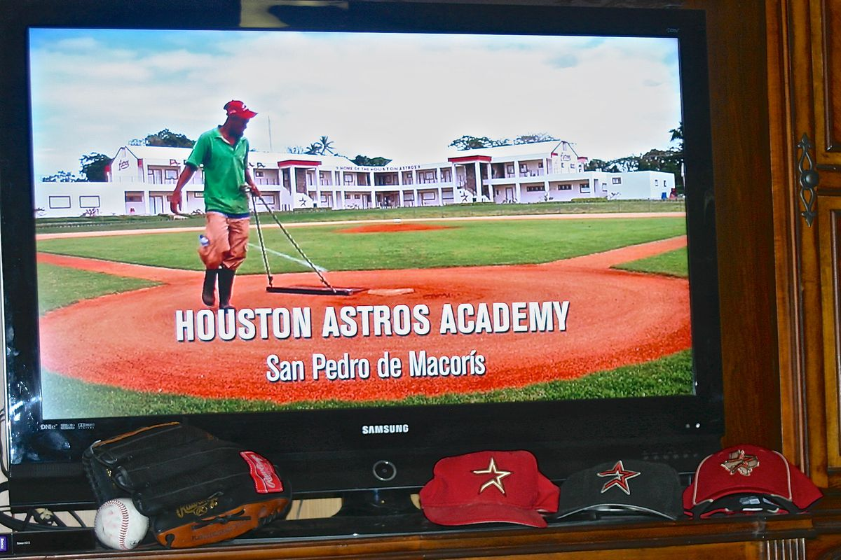 """The Houston Astros are featured prominently in the documentary film, """"Ballplayer: Pelotero."""""""