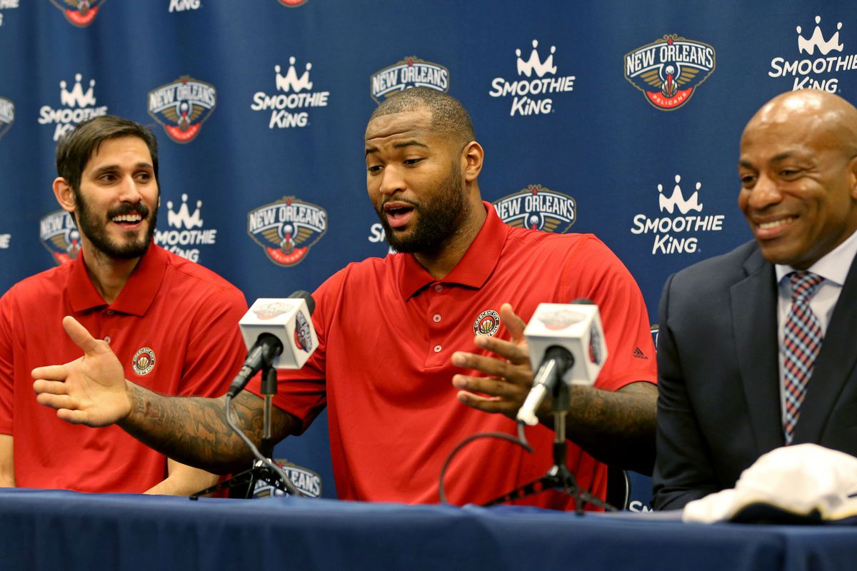 NBA: New Orleans Pelicans-Press Conference