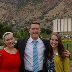 Kelsi, Marissa and Miles Anderson, three Utah siblings, have all served in the Taiwan Taichung Mission.