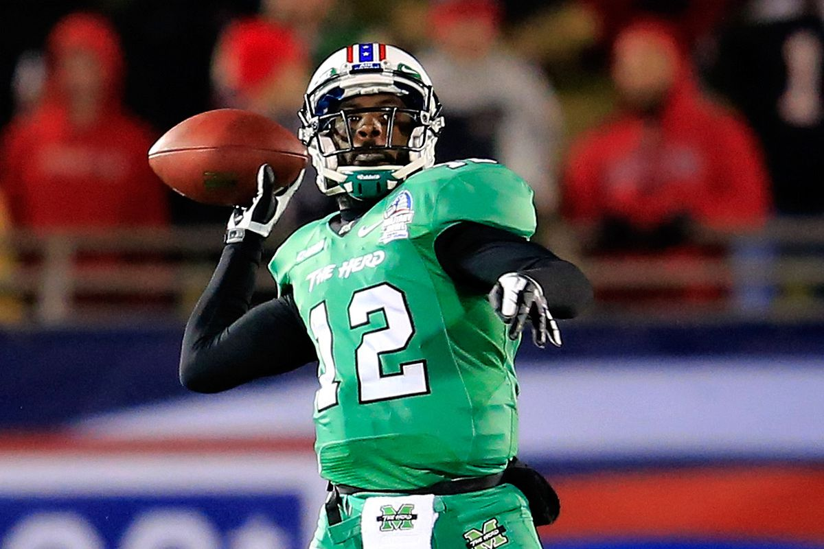 Marshall And Wku Scored 91 Points In A Half Nearly A New Ncaa Fbs