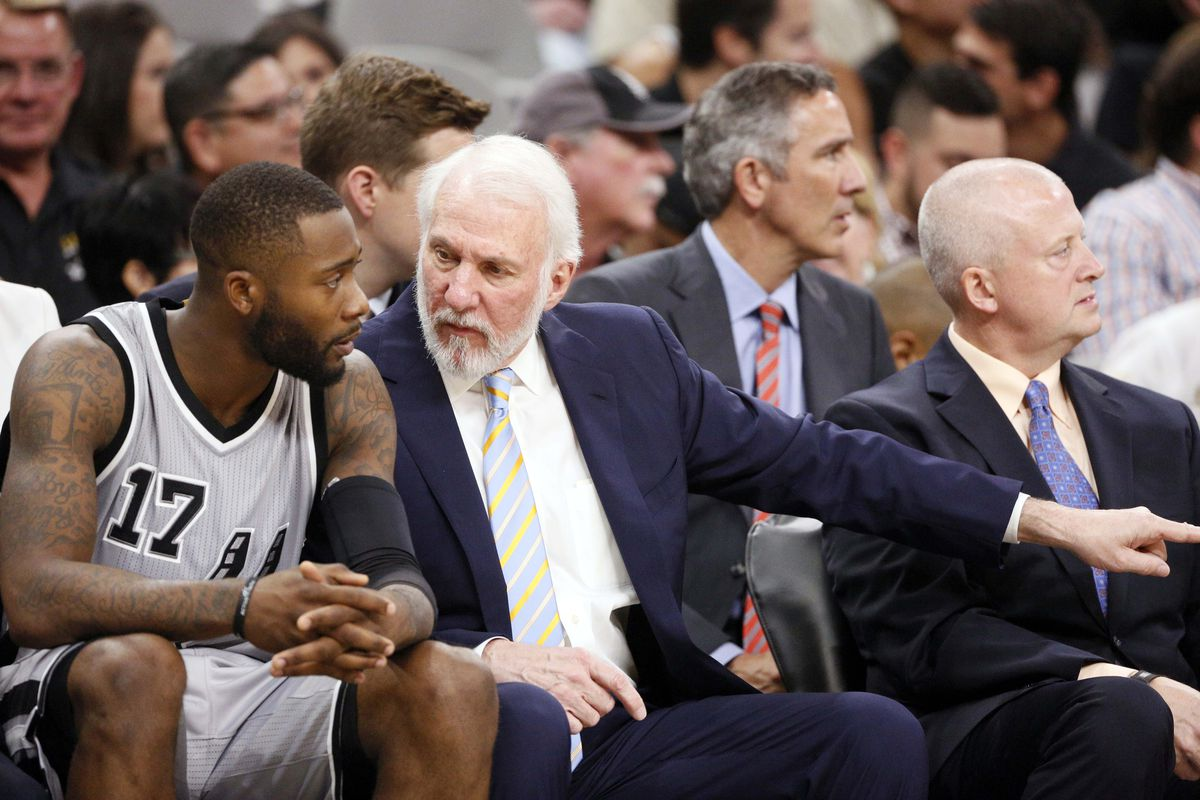 In the midst of figuring things out without Tim Duncan.