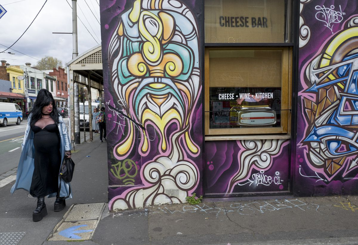 Brunswick Street in Melbourne