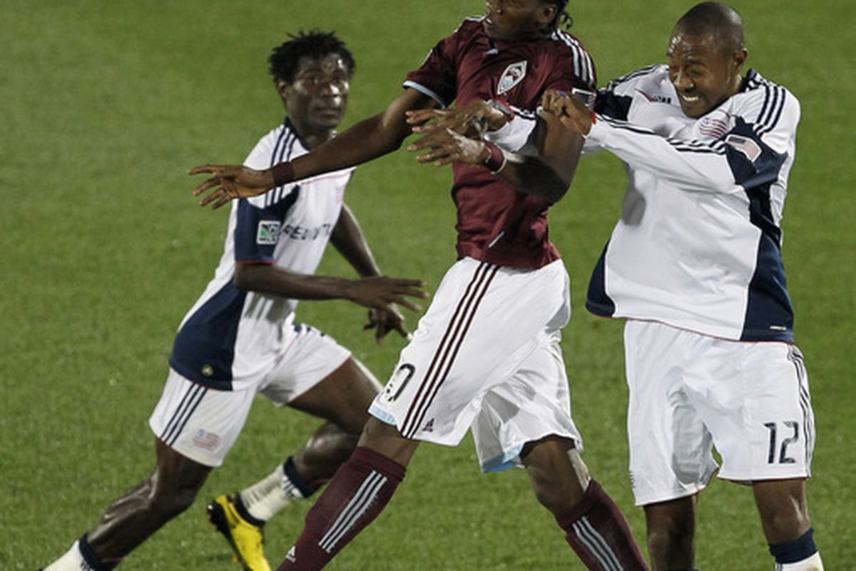 Macoumba Kandji is going to have to step it up big time if he gets his first Rapids start.