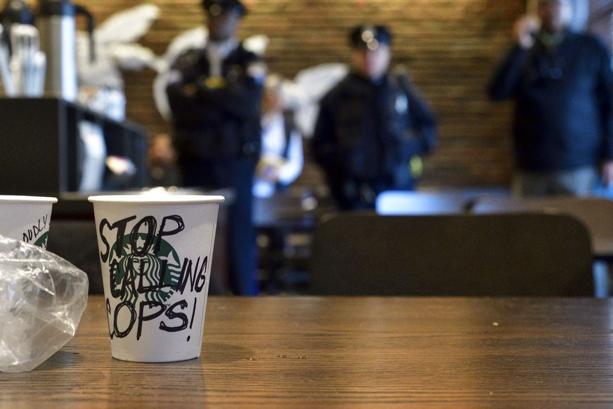 starbucks arrests raise questions about when chains should call