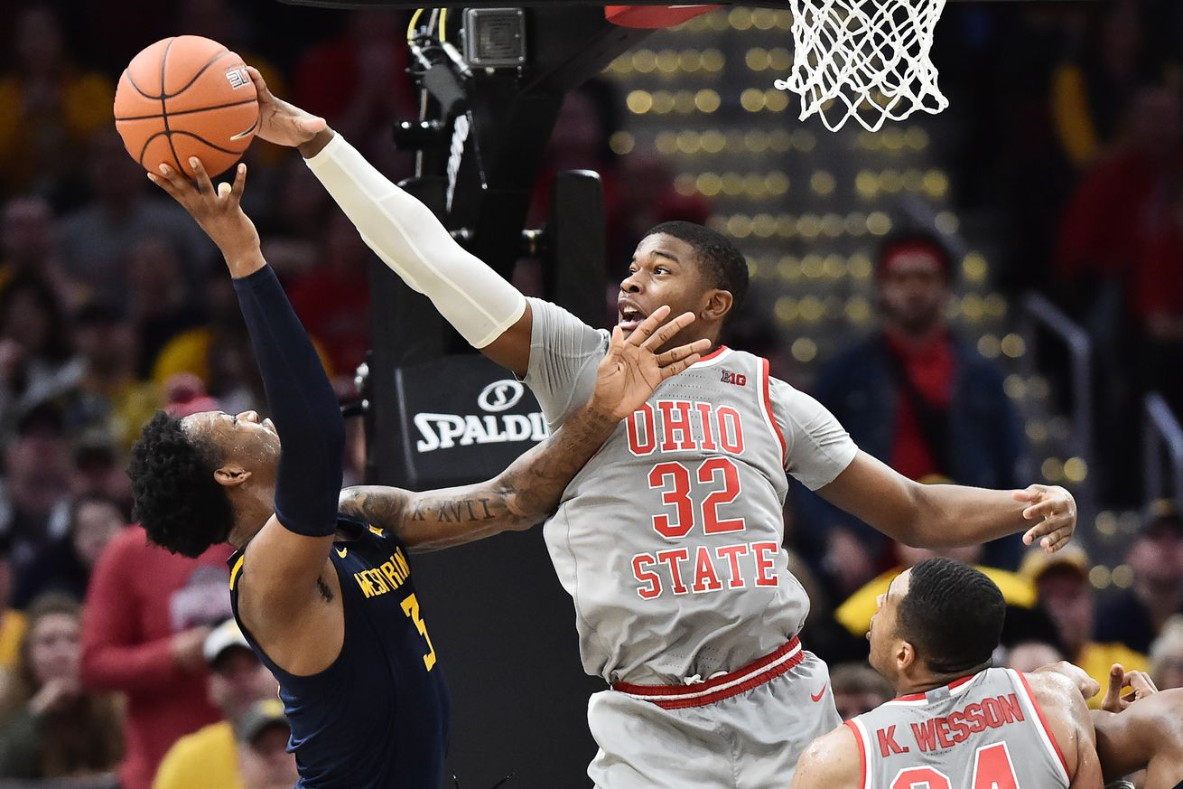 NCAA Basketball: West Virginia at Ohio State