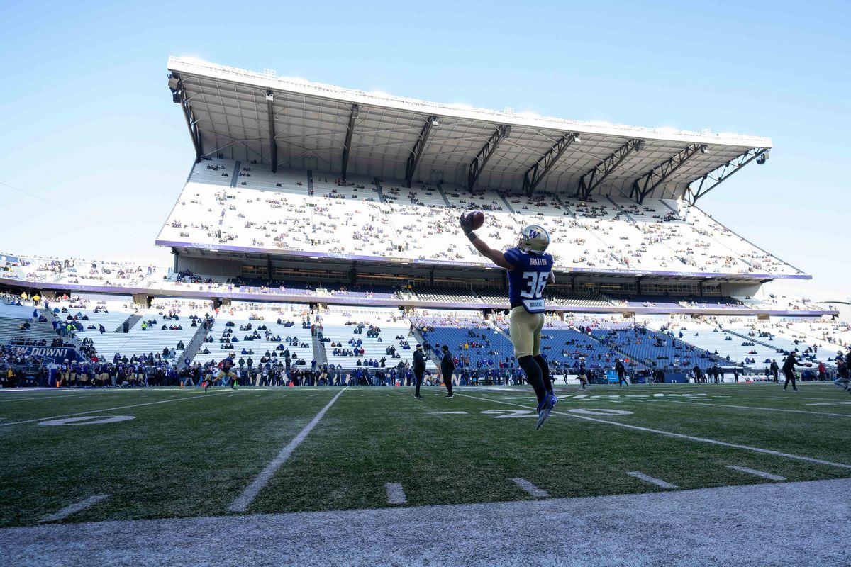 COLLEGE FOOTBALL: NOV 29 Washington State at Washington