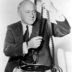 """Cecil B. DeMille was a film director and producer who lived from 1881-1959. One of his best known films was the biblical epic """"The Ten Commandments,"""" which held the Paramount revenue record for 25 years. DeMille developed a friendship with LDS Church President David O. McKay and gave the commencement address at BYU in 1957."""