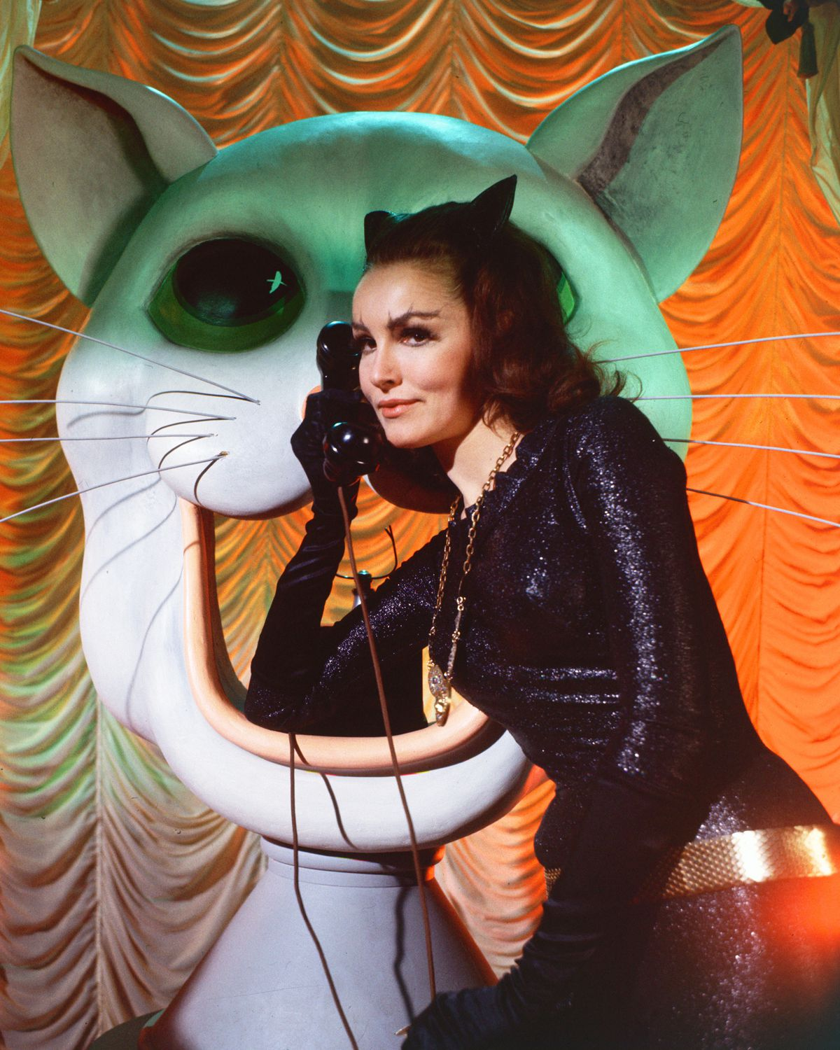 Julie Newmar as Catwoman in 1966