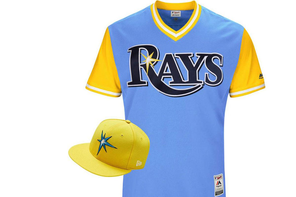 499dcf37434 Tampa Bay Rays unveil Players Weekend Uniforms - DRaysBay