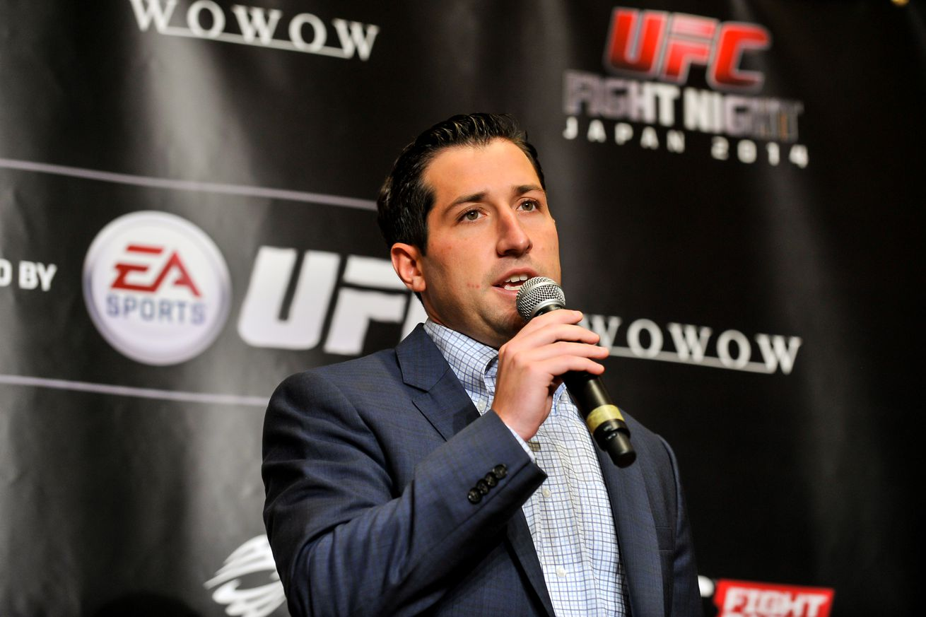 Joe Carr, senior executive of content and international, departing the UFC