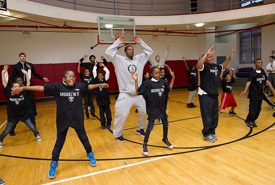 Brooklyn Fit: Nets help keep Bed-Stuy kids fit with a ...