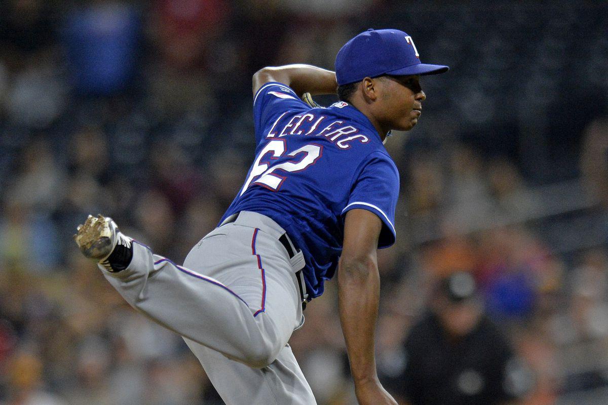 MLB: Texas Rangers at San Diego Padres