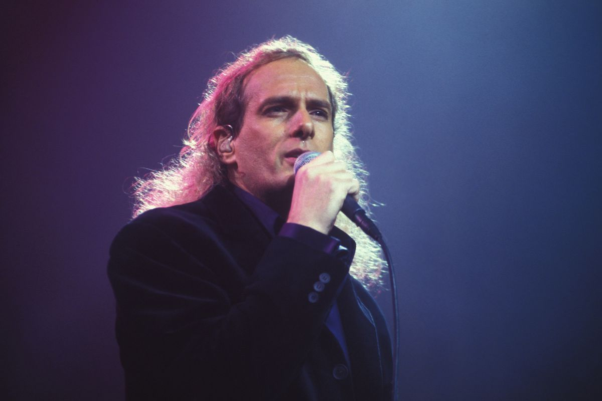 Michael Bolton en concert à Paris dans les années 90