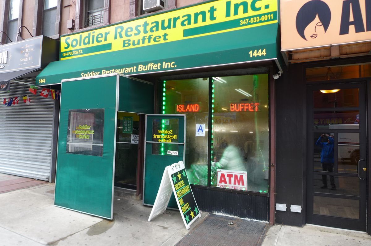 Bed-Stuy's Soldier is right on Fulton.