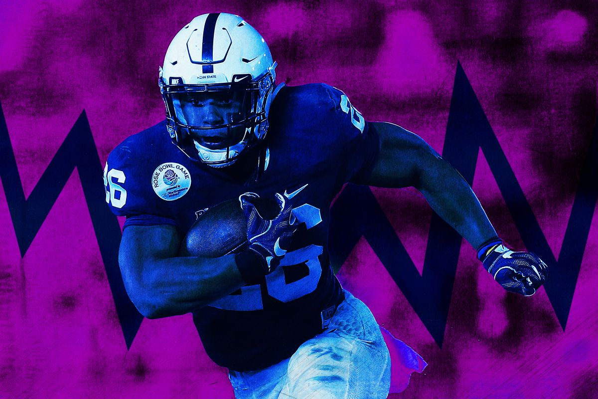 The Story of Saquon Barkley, Told by 26 Guys Who Tried to Tackle Him ... 81241c248b