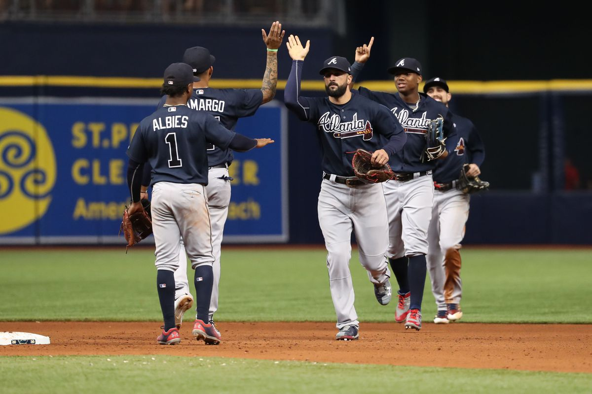 MLB: Atlanta Braves at Tampa Bay Rays