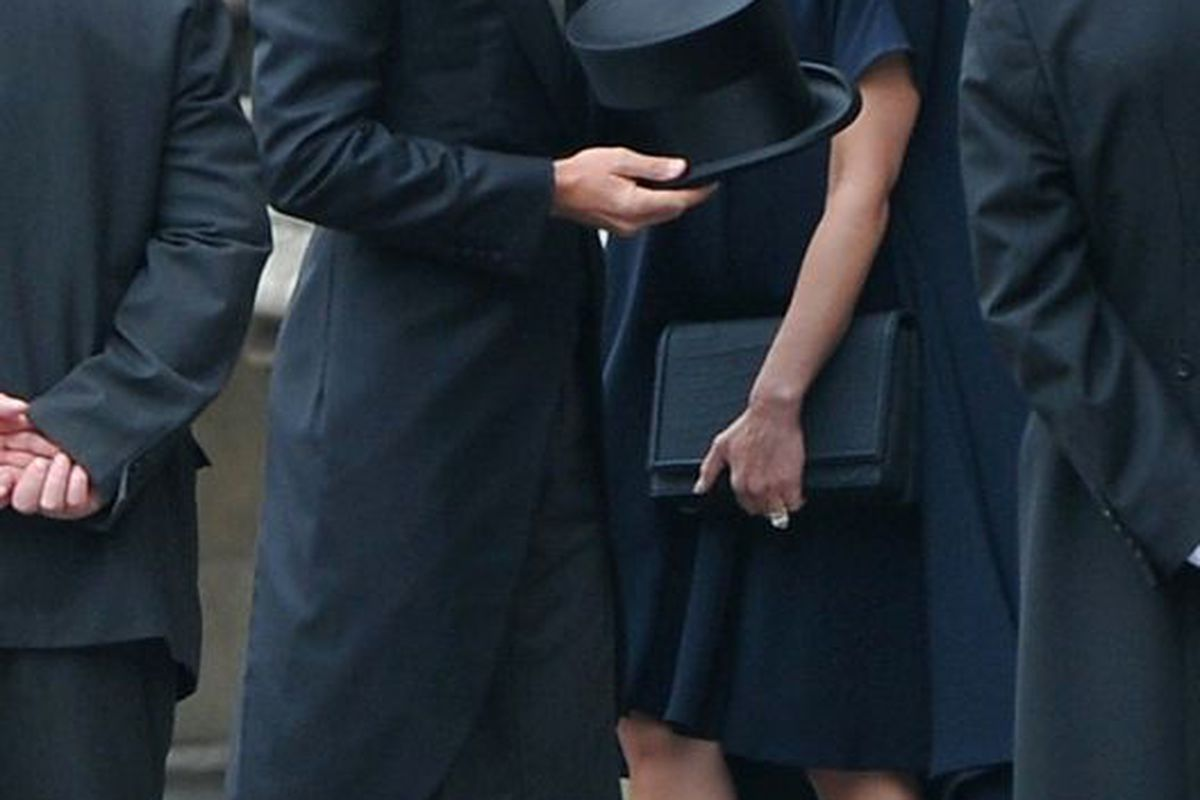 Victoria Beckham wore super-high heels when she was super-pregnant (Getty Images)