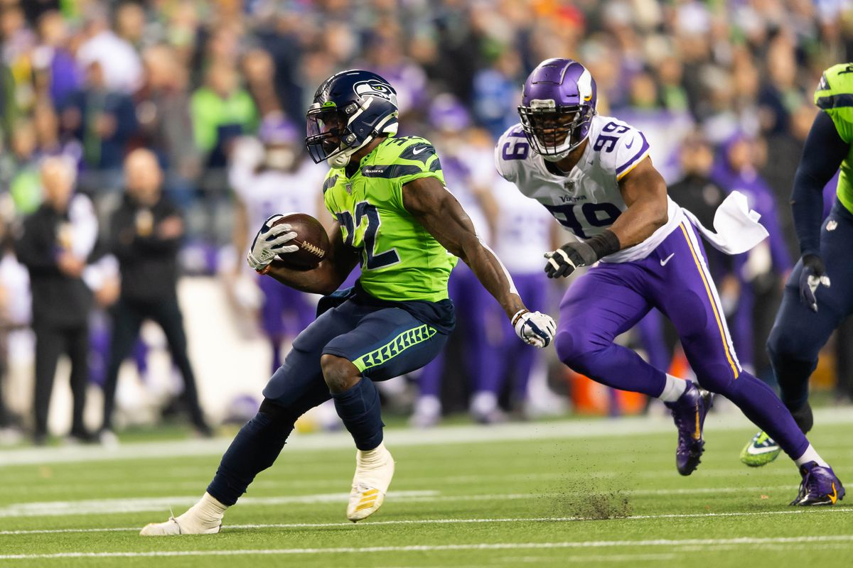 How the Seahawks offense rolled over the Vikings in the first quarter - Field Gulls