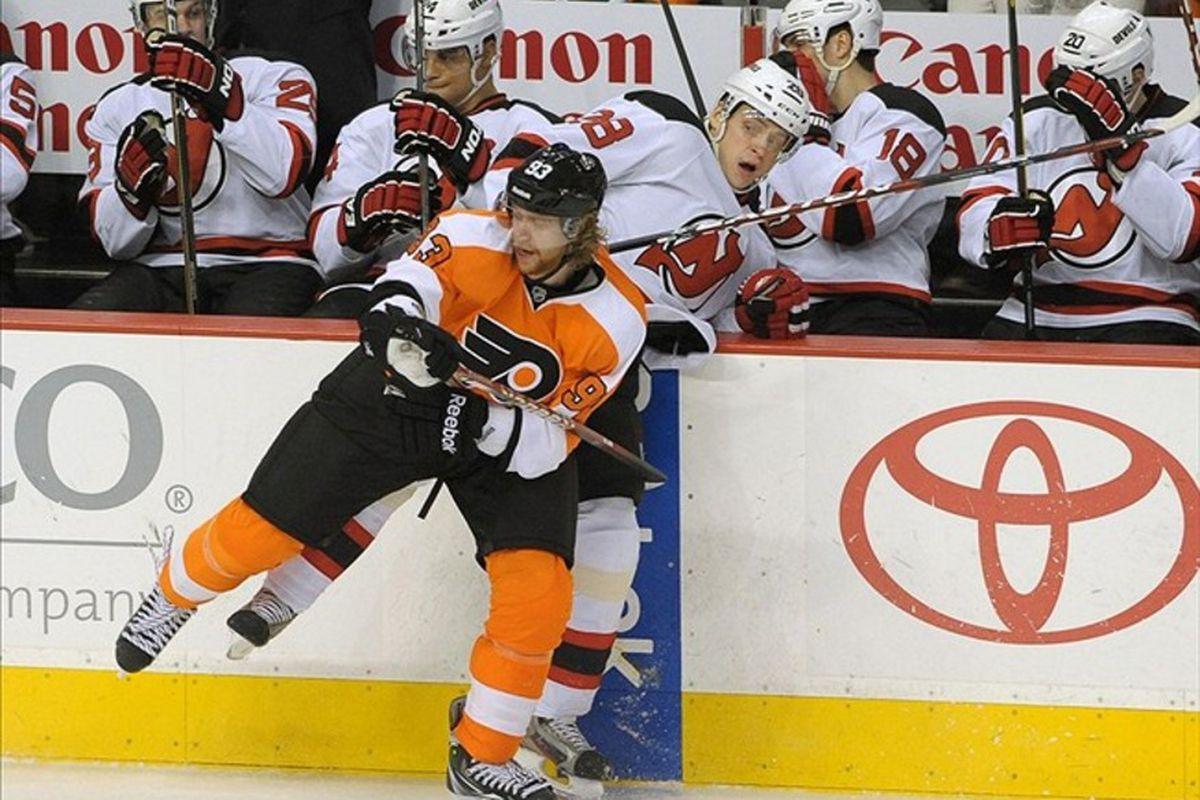 New Jersey Devils vs. Philadelphia Flyers  The 2012 NHL Playoff ... 389368426