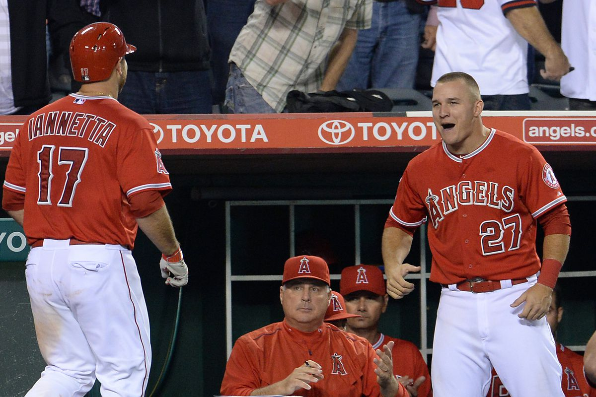 """""""Whoo!"""" --Mike Trout"""