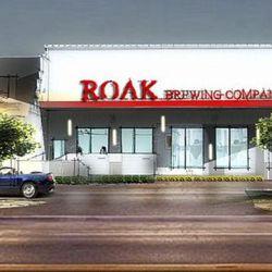 ROAK Brewing Company mockup