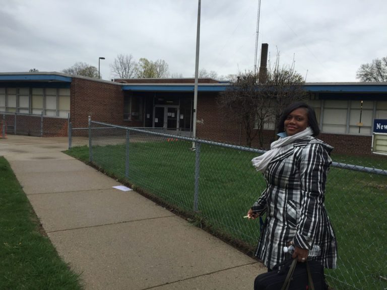 """Development Centers director Rhonda Mallory-Burns says her agency was told the Winston Development Centers building had working heat but, when winter came, many classrooms were too cold to open. """"There were some days that were very challenging,"""" she said. (Erin Einhorn/Chalkbeat)"""