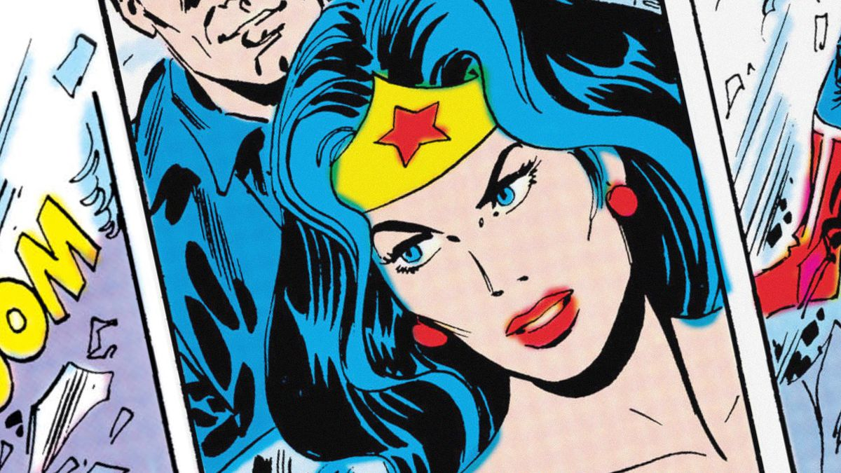 Wonder Woman comic from the 1980s