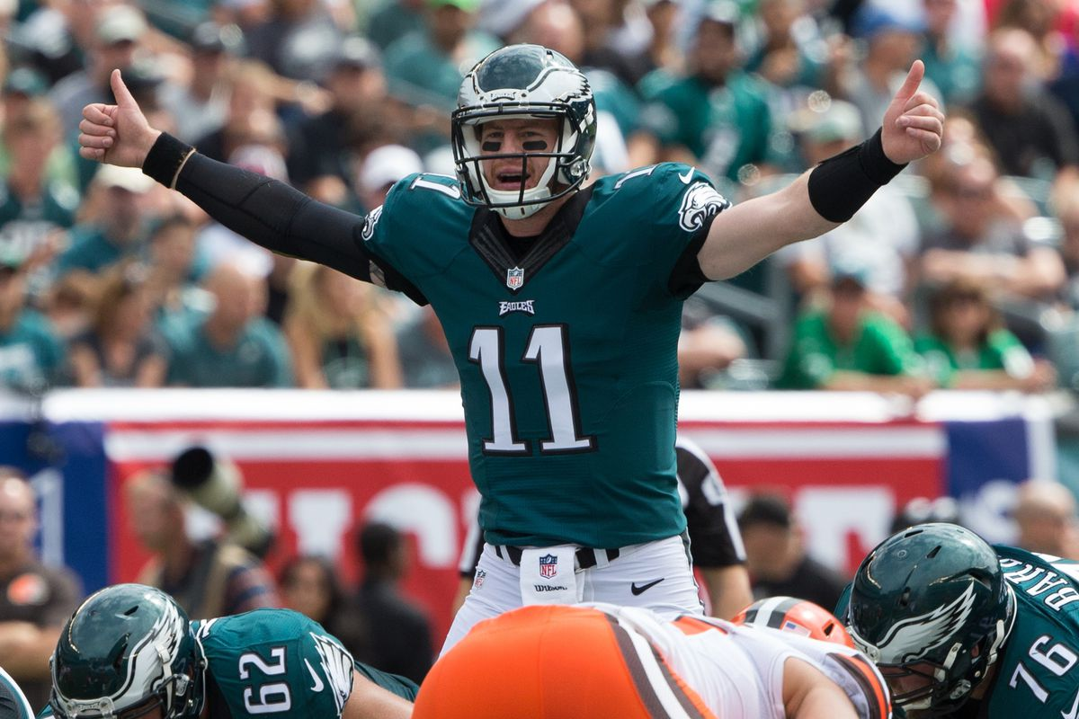 e8bd15fff Eagles News  The Browns finally made all their picks from the Carson Wentz  trade