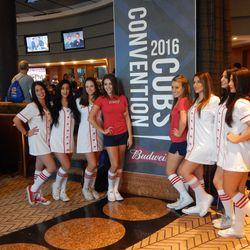 The Budweiser Girls