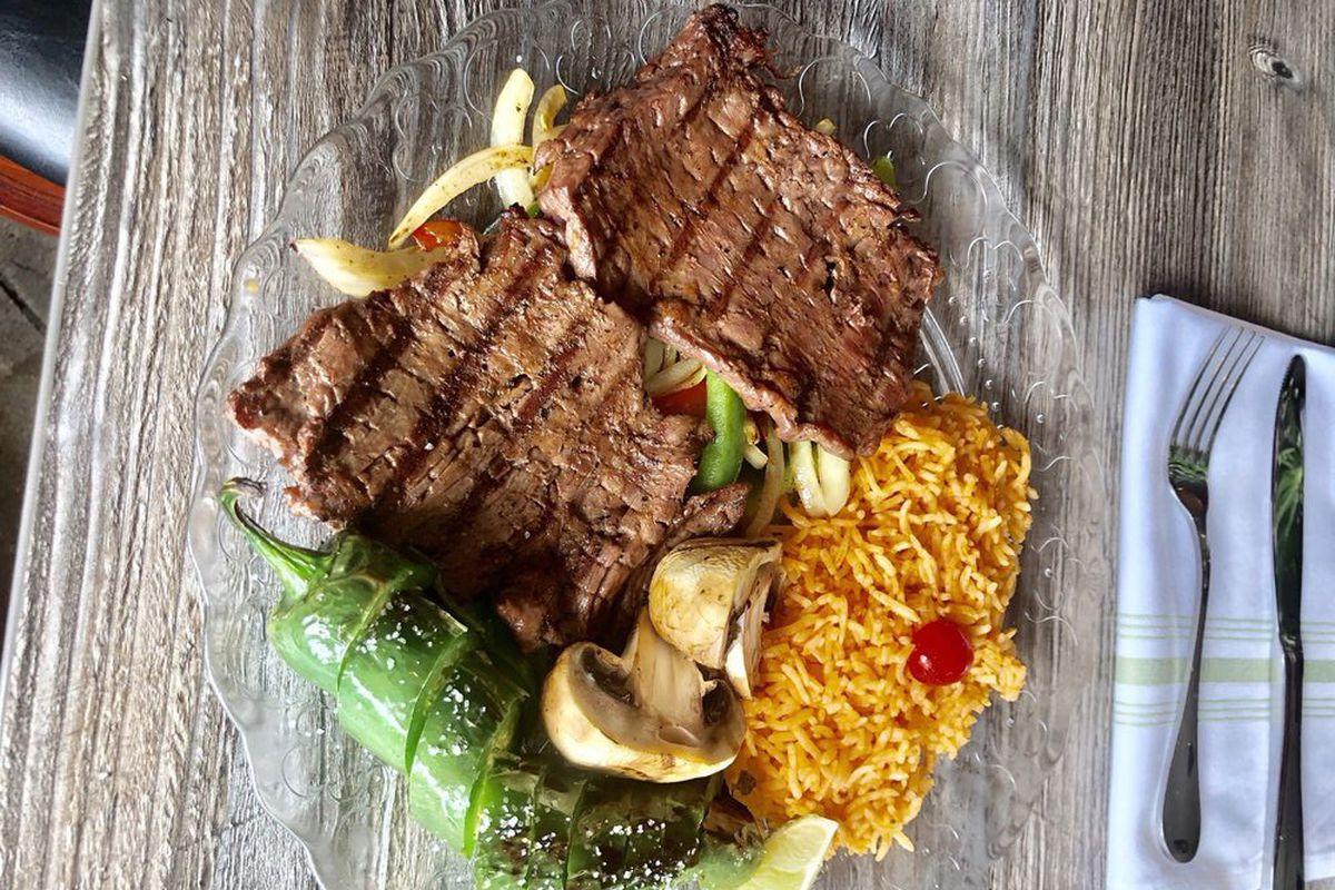 The carne asada from N'Esperado
