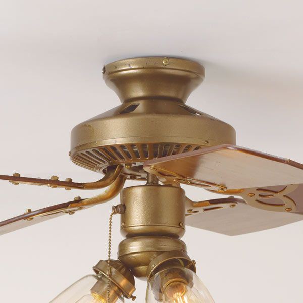 3 Ways To Spiff Up A Ceiling Fan This Old House