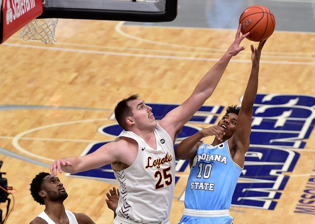 NCAA Basketball: Missouri Valley Conference Tournament-Indiana State vs Loyola