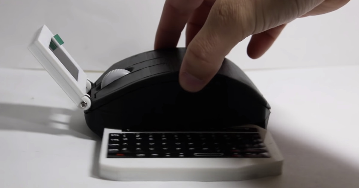 The 'Computer' Mouse is a Mouse that is Also a Fully Functional Computer