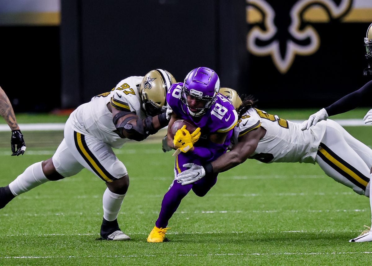 NFL: DEC 25 Vikings at Saints