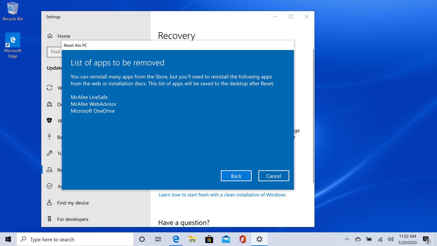 Cách Đặt Lại Ứng Dụng Bảo Mật Của Windows Trong Windows 10 - HUY AN PHÁT