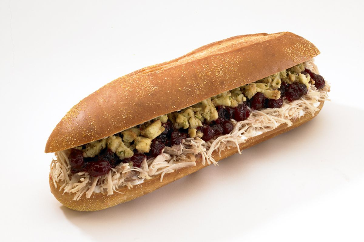 The Bobbie sandwich from Capriotti's