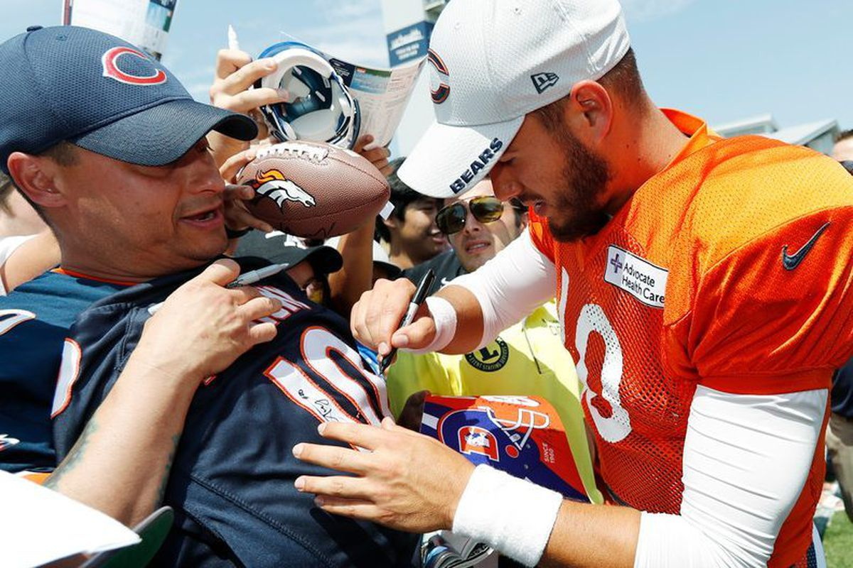 4816ea3a Bears vs. Broncos practice: Five takeaways, including a good day for ...