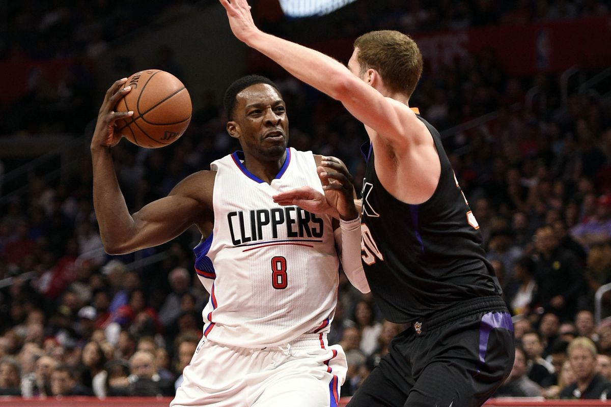 Believe it or not, this was the best picture of Jeff Green as a Clipper. Get it together, media.