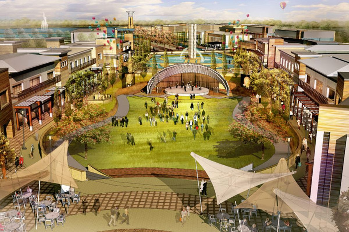 Four New Eateries Will Open At The Colony S Enormous Grandscape Development